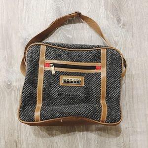 Oscar de la Renta Studio Tweed Messenger Bag